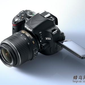 尼康正式发布D5100单反相机