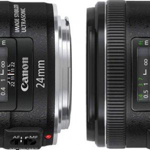 佳能发布24mm及28mm f/2.8 IS USM镜头