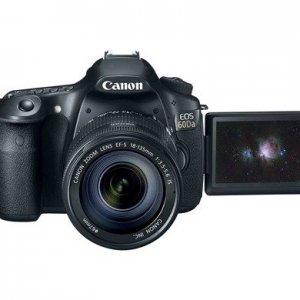 佳能发布天文摄影专用单反60Da