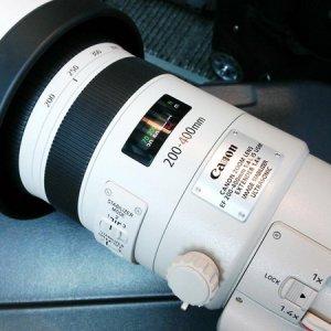 尘埃落定   佳能200-400mm镜头确认上市