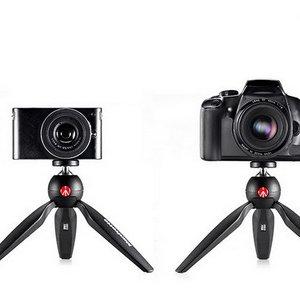 曼富图 PIXI 适用于微单系统相机的完美迷你三角架