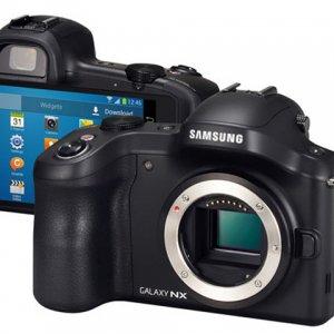三星发布首款Android系统无反相机Galaxy NX