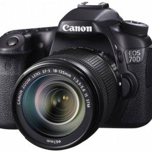 佳能发布最新终端单反相机EOS 70D