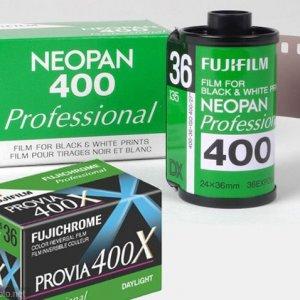 富士Neopan 400、Provia 400X胶片停产