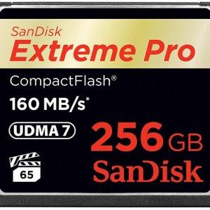 SanDisk推出256GB Extreme Pro CF卡