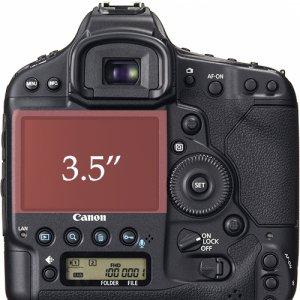 """『传闻』佳能新EOS-1相机将配备3.5""""触摸屏幕"""