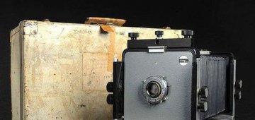 摄影大师自用4×5相机下周拍卖 预估30万美元