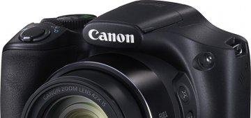 佳能发布高倍变焦数码相机SX520 HS、SX400 IS